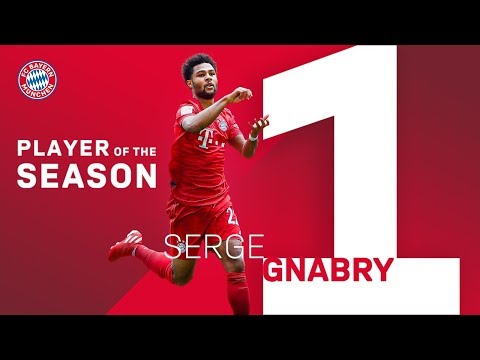 Serge Gnabry – FC Bayern Player of the 2018/19 Season