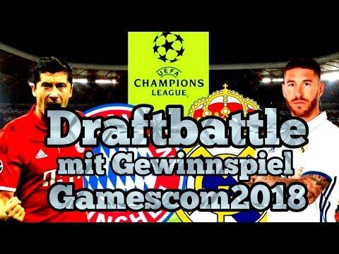 Fut Draft Battle, Fc Bayern vs Real Madrid. Gewinnspiel Gamescom 2018