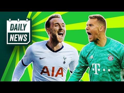 Spurs penalty nightmare + Bayern players banned from Germany? ► Daily News