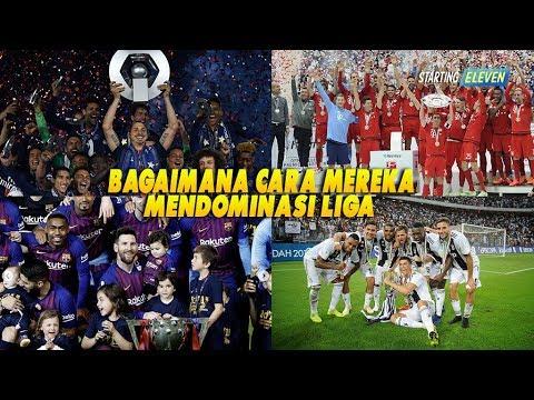 Mengapa Barcelona, Bayern, Juventus dan PSG Mampu Menguasai Liga Domestik