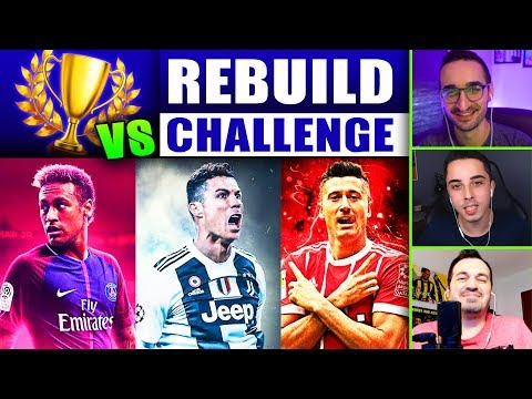 ŞAMPİYONLAR REBUILD CHALLENGE // JUVENTUS vs PSG vs BAYERN MÜNİH // FIFA 19 SON KARİYER