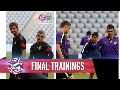 FC Bayern I Manchester City I Training