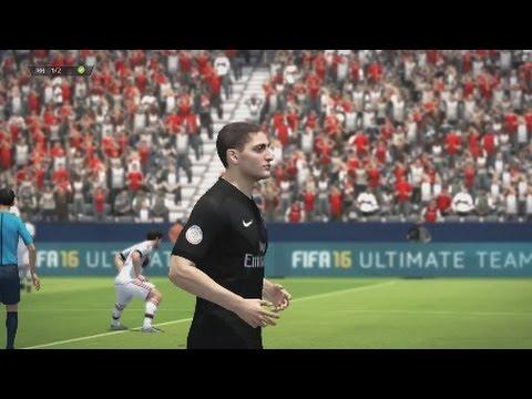 Fifa 16 Online Gameplay ps3 – PSG vs Bayern Munich