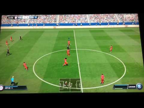 Prima partita del mini torneo – FIFA 15 : FC Bayern vs PSG