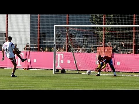 FC Bayern Munich goalkeeper training – Part 3