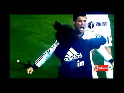lewandowski(bayern munich) vs C.ronaldoa (real madrid) full HD hight  ligh skill