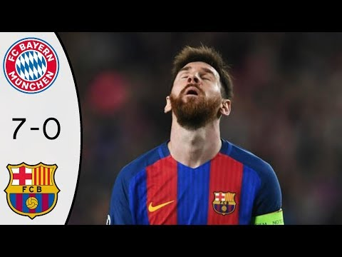 Bayern Munchen vs Barcelona 7-0 All Goals & Extended Highlights RÉSUMÉ & GOLES (Last Matches)