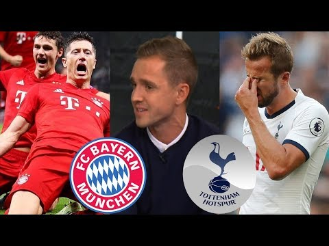 Tottenham vs Bayern Munich 2-7 Post Match Analysis; Lewandowski 2 Goals (45', 87') & REACTION