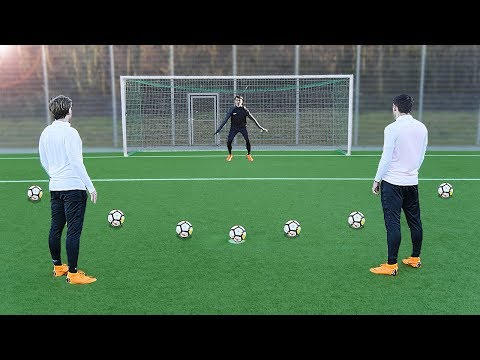 freekickerz vs Kingsley Coman (FC Bayern Munich) – Penalty Football Challenge