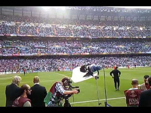 FC Bayern München vs FC Inter Mailand CL Finale 2010 in Madrid – Stern des Südens