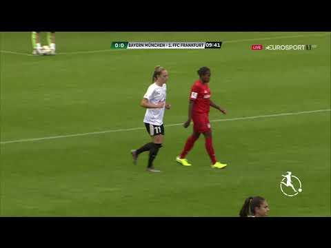 Frauenfußball Bundesliga 2019 20 2 Spieltag FC Bayern München vs 1FFC Frankfurt