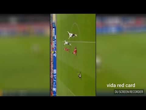 Bayern munchen besiktas RED CARD Vida 20/2/2018 champions league