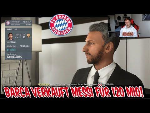 Barcelona würde MESSI für 120 MIO verkaufen! – Fifa 20 Karrieremodus FC Bayern München #10