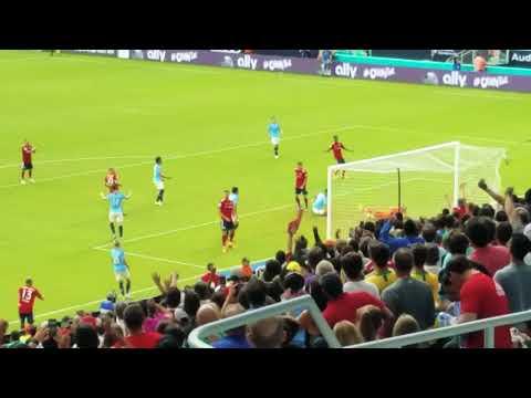 FC BAYERN VS MANCHESTER CITY 1st Goal