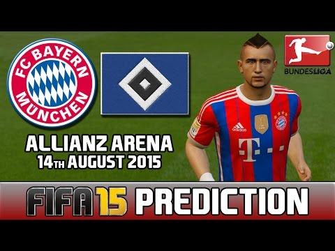 Bayern München vs Hamburger SV – 14/08/2015 | Bundesliga Prediction Highlights