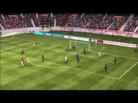FIFA 13 gameplay online FC Bayern vs PSG (GaMeR1744 & Sniperer1236) gezockt von GaMeR1744