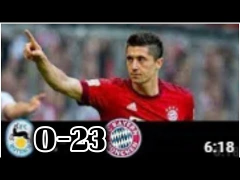 Bayern Munich 23-0 Rottach Egern All Goals & Highlights 2019 HQ