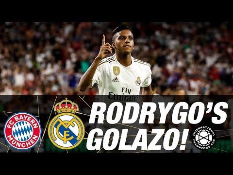 Rodrygo's AMAZING free-kick goal against Bayern!