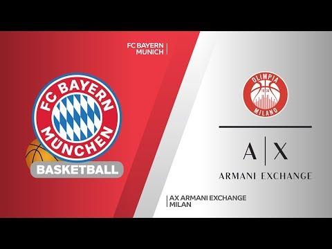 FC Bayern Munich – AX Armani Exchange Milan Highlights | EuroLeague, RS Round 1