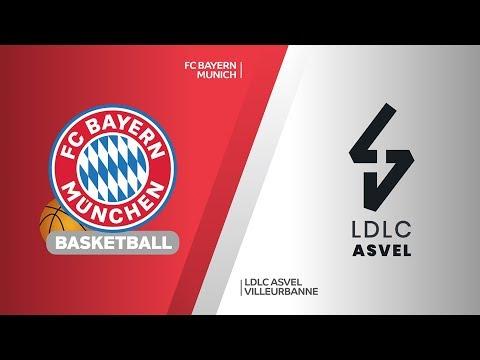 FC Bayern Munich- LDLC ASVEL Villeurbanne Highlights | Turkish Airlines EuroLeague, RS Round 3