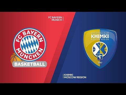 FC Bayern Munich – Khimki Moscow region Highlights | Turkish Airlines EuroLeague, RS Round 4