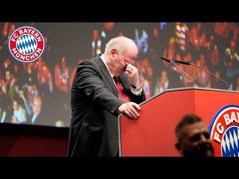 Der Abschied von Präsident Uli Hoeneß – FC Bayern Jahreshauptversammlung 2019