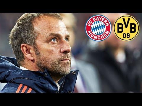4-0 Sieg! FC Bayern Pressekonferenz mit Hansi Flick nach dem Erfolg gegen  Dortmund