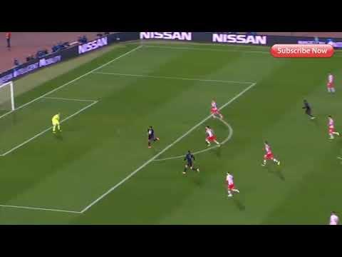 ( No Goal )Red Star Belgrade 0-2 Bayern – Robert Lewandowski 41'