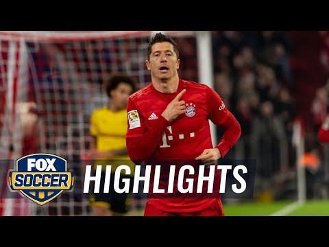 Bayern Munich vs. Borussia Dortmund | 2019 Bundesliga Highlights