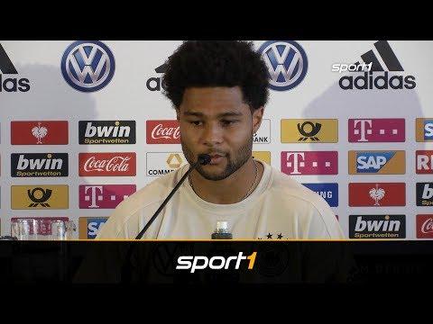 Gnabry: Darum wünsche ich mir Leroy Sane beim FC Bayern | SPORT1