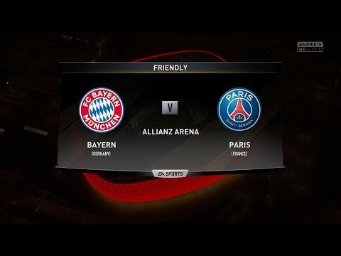FIFA 18 ⚽ | BAYERN MUNICH VS PARIS SAINT-GERMAIN – FULL GAMEPLAY | PS4 | 1080p60 | MARIUS GATEA