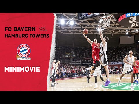 Basketball Mini Movie | FC Bayern Basketball vs. Hamburg Towers Highlights | BBL 1. Spieltag