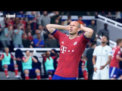 FC BAYERN MUNCHEN VS PSG PC GAMEPLAY