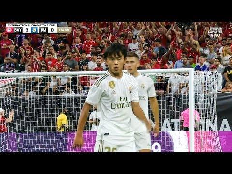 Takefusa Kubo vs Bayern Munich (Debut) 21/07/2019 HD