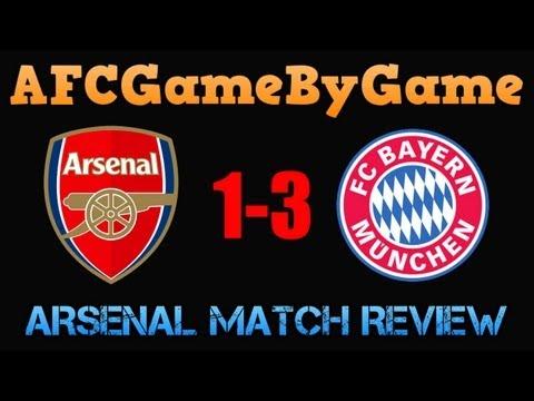 Arsenal v Bayern Munich 1-3 Match Review