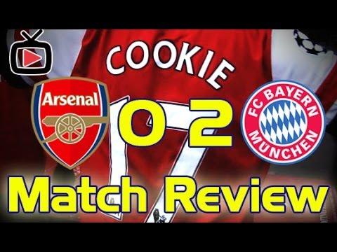 Arsenal v Bayern Munich 0-2 Match Review