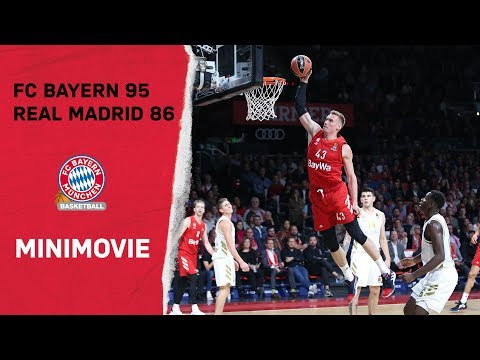 Basketball Mini Movie | FC Bayern vs. Real Madrid 95:86 | 5. Spieltag EuroLeague