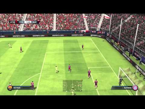 FIFA 15 • FC Barcelona vs FC Bayern Munich Showroom • PS3