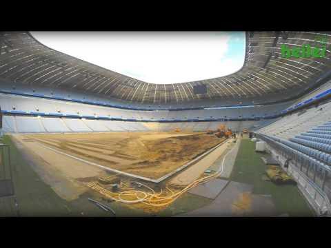 FC Bayern München – Umbau der Allianz Arena 2014 mit heiler