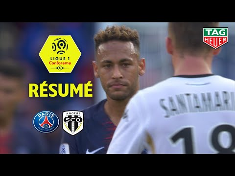 Paris Saint-Germain – Angers SCO ( 3-1 ) – Résumé – (PARIS – SCO) / 2018-19