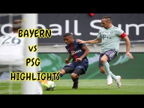 Bayern Munich vs Paris Saint Germain ( 3-1 ) – All Goals & Extended Highlights | ICC 2018