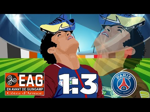 Guingamp vs PSG (1-3) Résumé Highlights Goals – Ligue 1 Conforama 2018/19
