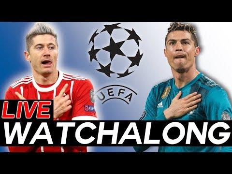 BAYERN MUNICH vs REAL MADRID LIVE Watchalong STREAM – Champions League Semi-Finals Leg 1