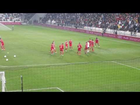FC Bayern Munich Match Warm up