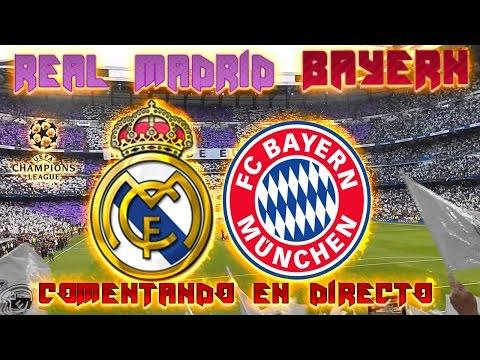 REAL MADRID vs BAYERN MUNICH | Comentando en VIVO la UEFA CHAMPIONS LEAGUE 2016-17