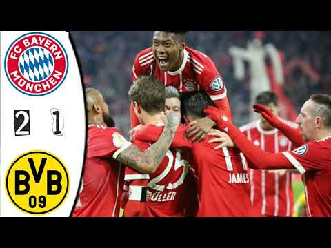 Bayern Munich vs Borussia Dortmund 2-1 All Goals Live score match in pictures