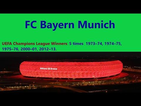 FC Bayern Munich history.  Bayern trophies, kits.