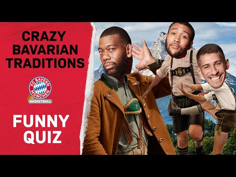Crazy Bavarian Traditions at FC Bayern Basketball | Funny Quiz