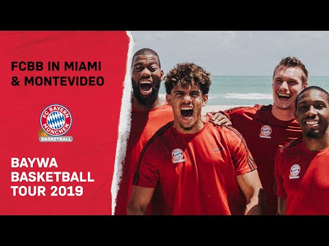 Greg Monroe, Ron Harper, Goran Dragic | FC Bayern auf BayWa Basketball Tour in Miami und Montevideo