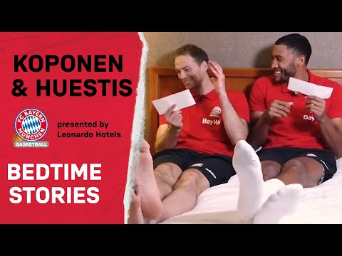 FC Bayern Bedtime Stories | Petteri Koponen & Josh Huestis | Folge 1 | presented by Leonardo Hotels
